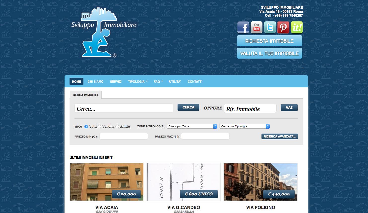 sviluppo immobiliare roma